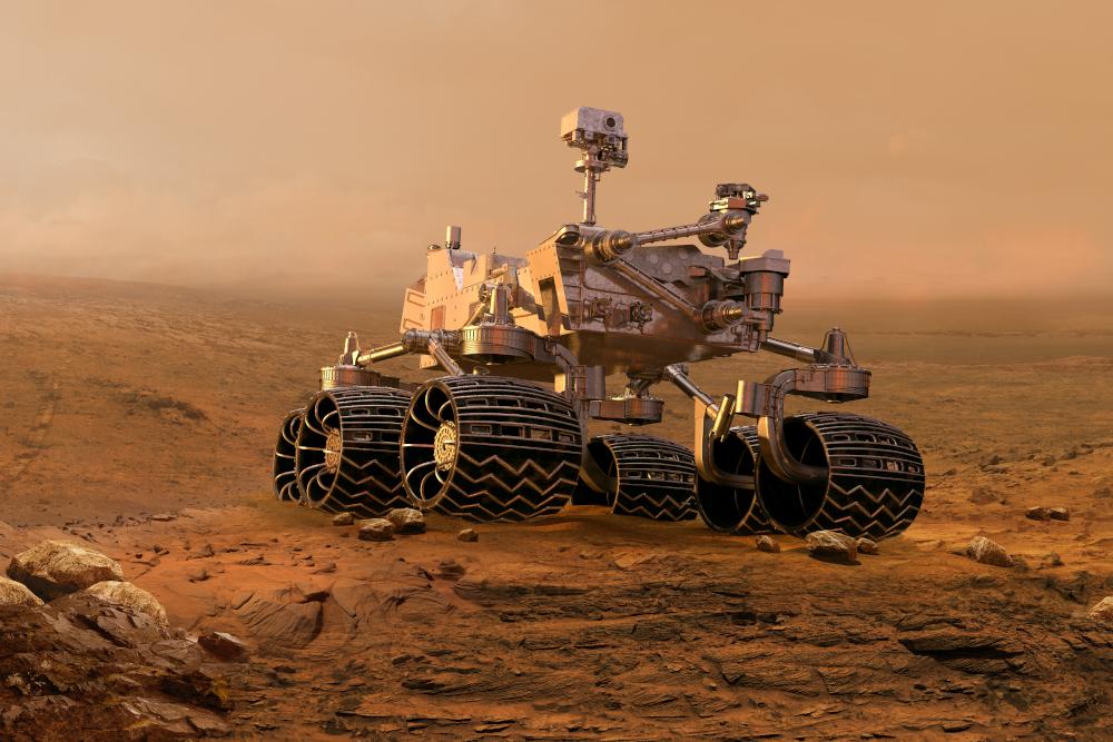 mars rover un robot