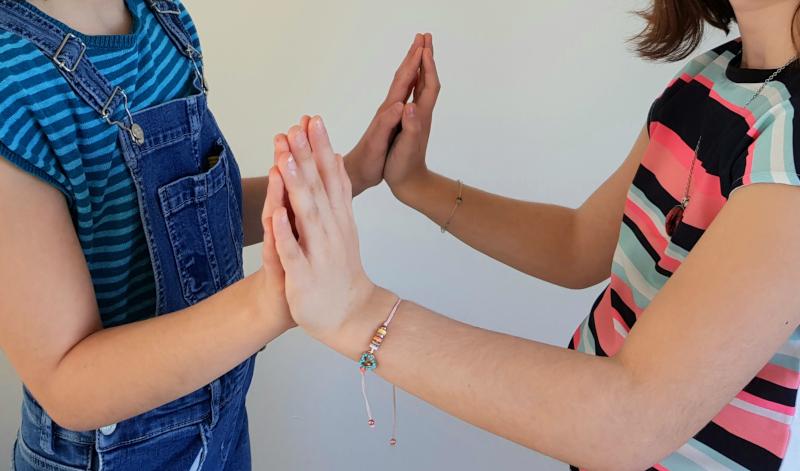 contamination germes par les mains