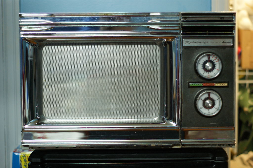 microwave oven! A History to discover
