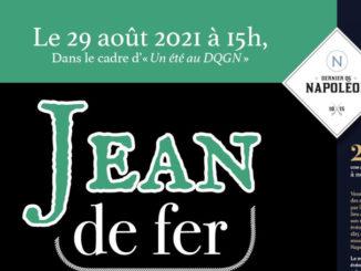 affiche jean de fer DQG