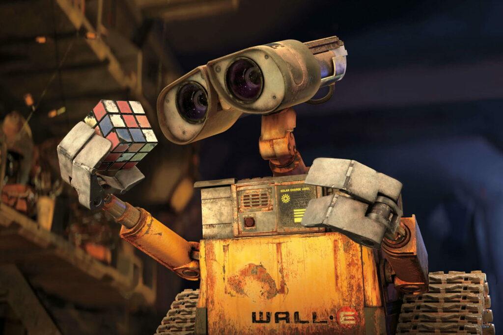 wall e le robot chez curiokids