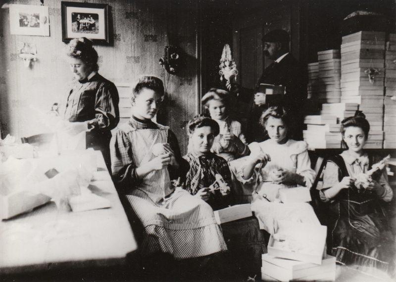 3_Arbeitsstube um 1920_curiokids