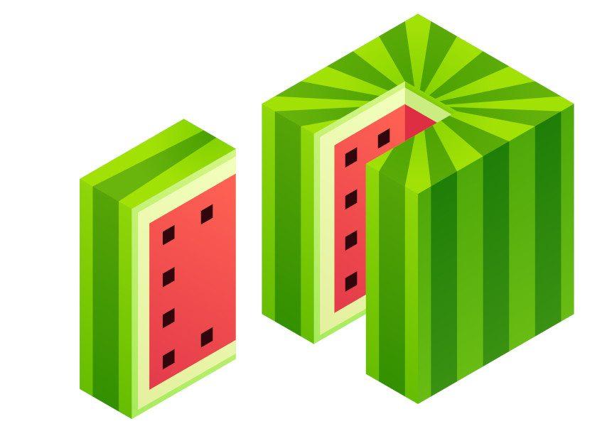 squared watermelon3_curiokids